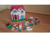 Used Dolls house and furniture