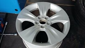 "1 X 19"" GENUINE BMW X5 E70 STYLE 213 ALLOY WHEEL 10J REAR 5X120 P/N 6772248"