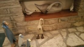 Collection of Geese ornaments