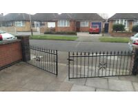 Front Drive Metal Gate for sale.