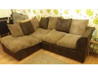 Gorgeous Left hand Sofa and Large Rug