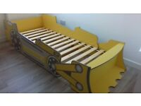 Digger bed - single bed