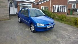 Peugeot 106 independence 3 Door only 2002