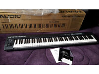 M-Audio Keystation 88 II MIDI Controller Keyboard