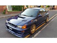 1999 Subaru Impreza WRX UK2000 2.0 Turbo, Blue, Modified