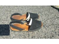 Menorcan slip-on shoes. size 5 or 38