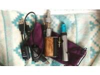 Collection of unwanted vaping accessories.