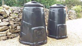 Compost Bins x2