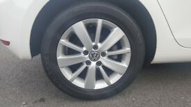 VW Golf MK6 Alloys Wheels (Rims and Tyres)