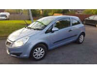 Vauxhall Corsa 1.0, Low mileage, Full year MOT