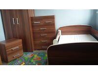 Kids bedroom furnitur+bed with mattress
