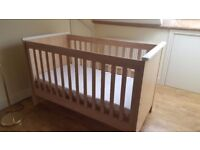 Baby things and cot