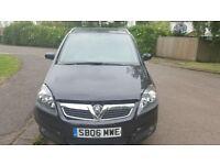 2006 Vauxhall Zafira 1.8 petrol