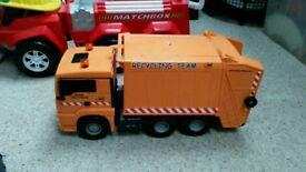 Toy rubbish truck