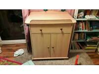 baby changing unit FREE