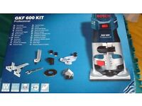 Bosch GKF600 Corded 110V Palm Router Professional Blue Range