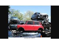Scrap Cars Wanted 07398063974