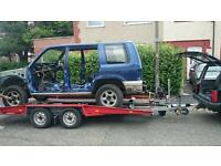 Car trailer heavy duty 2500 kg
