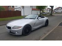 BMW Z4 2.2 convertible electric hood 2 seater 2004