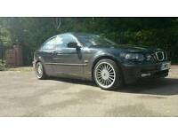 Bmw compact 1.6 with a 2.5 engine moted very clean conversion