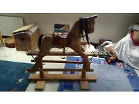 Rocking horse. Ideal for kids. Family heir loom.