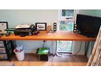 Hard wood for desk / table / etc