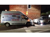 24hour Mobile Tyre Emergency Services Flat New Tyres Used Tyre Punture Service London