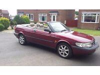 1996 saab 900 cabriolet 2.3 full 12 months mot