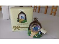 Set of 3, Disney Store Eeyore Snow Globes in original boxes