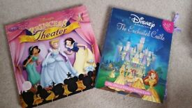 DISNEY PRINCESS THEATRE/CHARACTER PLAYSETS - LIKE NEW + other Princess items