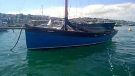 FALMOUTH WORKING BOAT {SAPPHIRE} HEARD 23