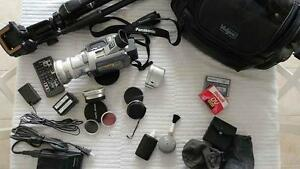 3CCD MiniDV camcorder with 10x optical and 700x digital zoom