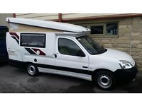 Citrein Berlingo Hylo 1.6TD with cab A/C excellent condition.