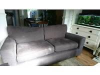 3 seater grey Next sofa