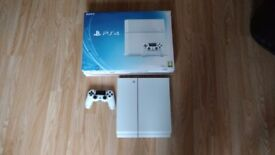 Playstation 4 Console, 500GB White, Boxed