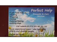 PERFECT HELP domestic and Care Services