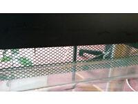 Glass vivarium (for reptiles and invertebrates)