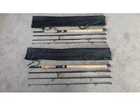 2 Daiwa Spinning Rods