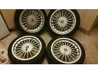 "Bmw alpina wheels 17"""