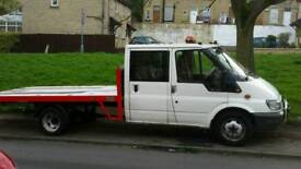 crew cab recovery truck for 4x4 or race van