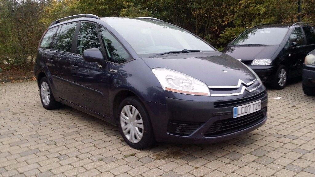 2007 citroen grand c4 picasso 1 6 hdi 16v sx automatic 5dr with new cambelt fitted in reading. Black Bedroom Furniture Sets. Home Design Ideas