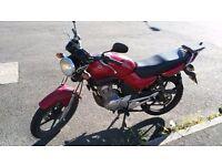 Yamaha ybr 125 cc ....need quick sale !