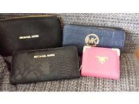 Michael Kors and Prada bags and purse