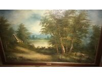 Original signed oil painting by c.inness