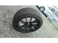 Multi fit 4 stud alloys wheels