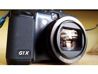 Canon PowerShot G1X + extra accessories V.Good condition!