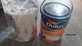 Dulux Easy Care washable and tough paint 5L Polished Pebble colour