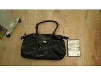 fcuk womens handbag. black, stylish, current