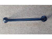 Blue metal grab rail made by Twyfords. 600mm long. Brand new.