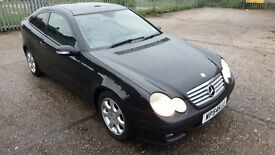Mercedes-Benz C Class 2.1 C200 CDI SE 2dr, EXCELLENT CONDITION, LONG MOT, HPI CLEAR, 2 KEYS, FSH